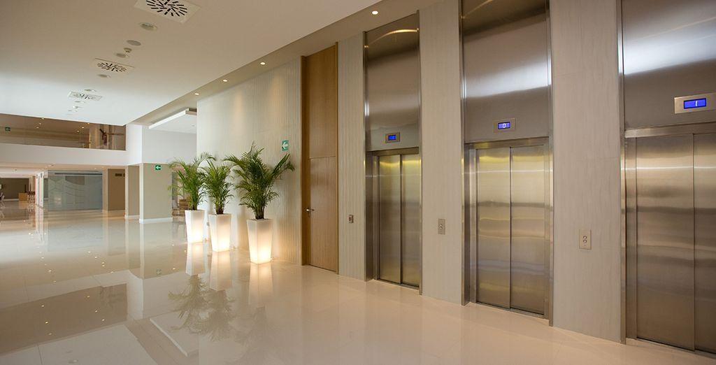 hotel 4* dal design moderno e minimal