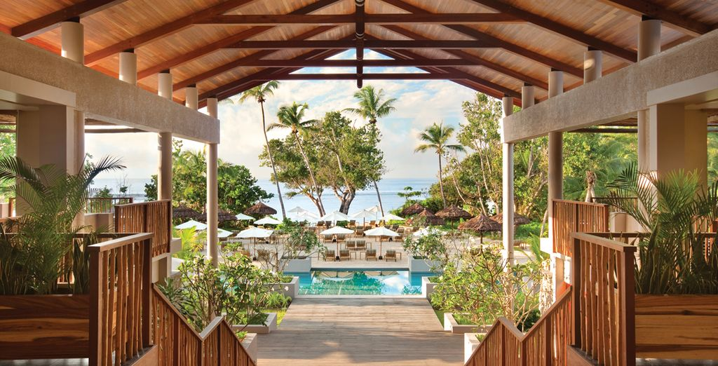 Un esclusivo resort 5 stelle vi attende