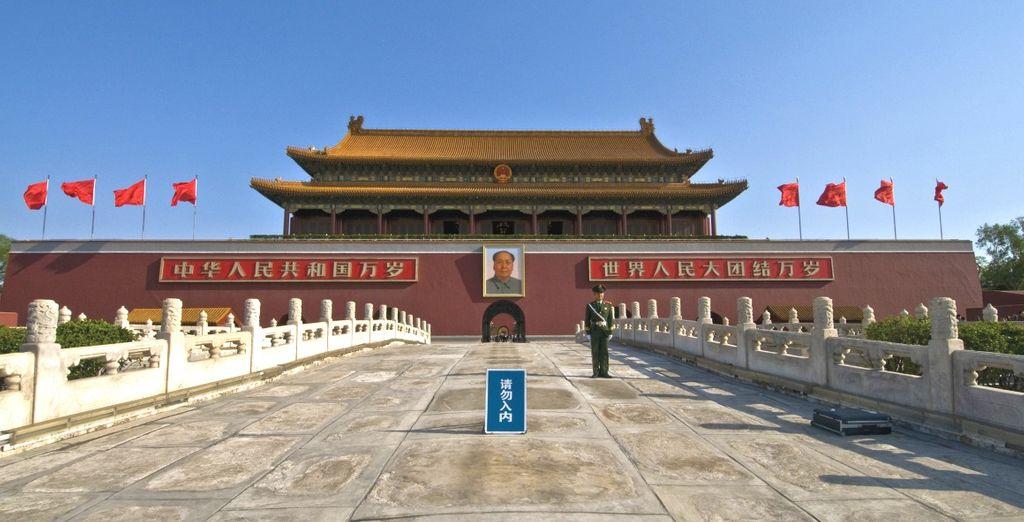 Potrete visitare le antiche residenze reali