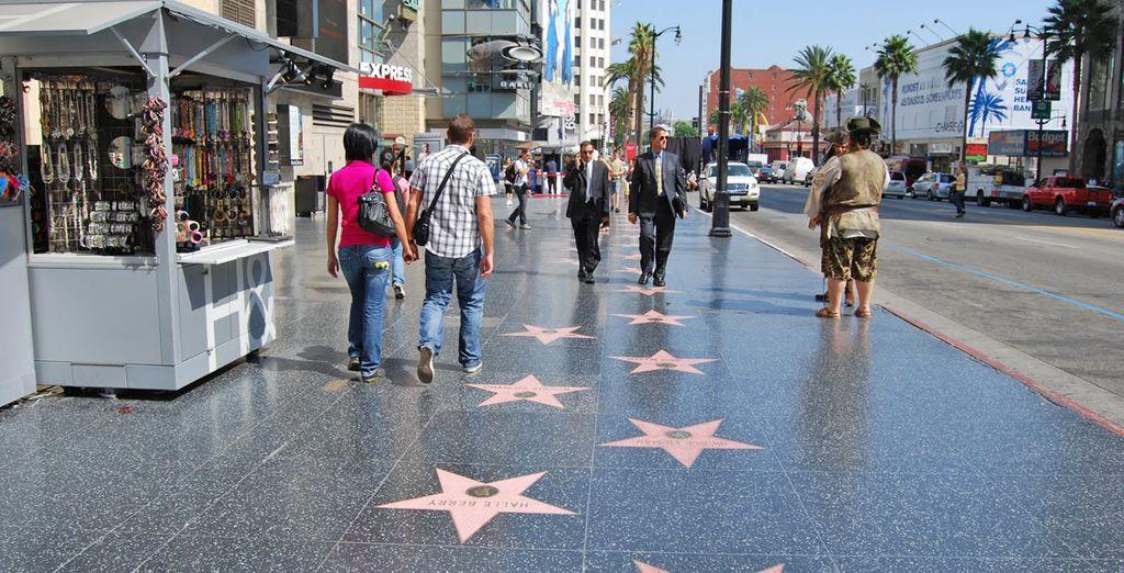 Terminerete il tour a Los Angeles