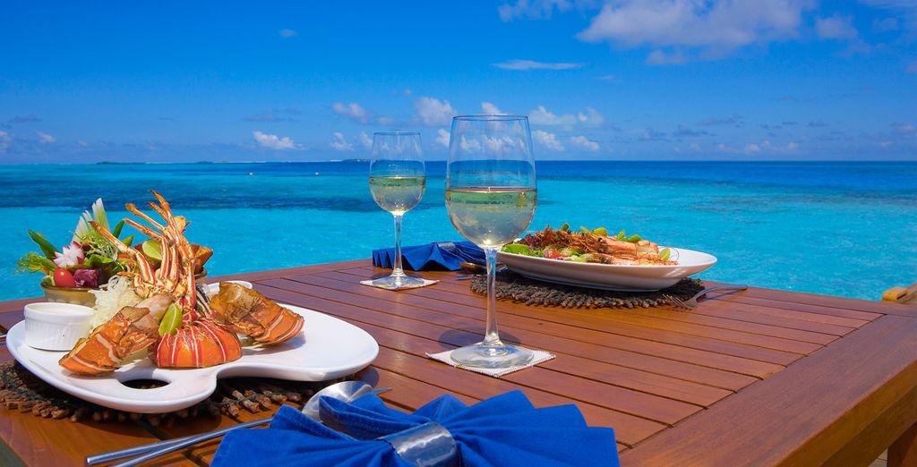 Godete un gustoso pranzo con vista mozzafiato
