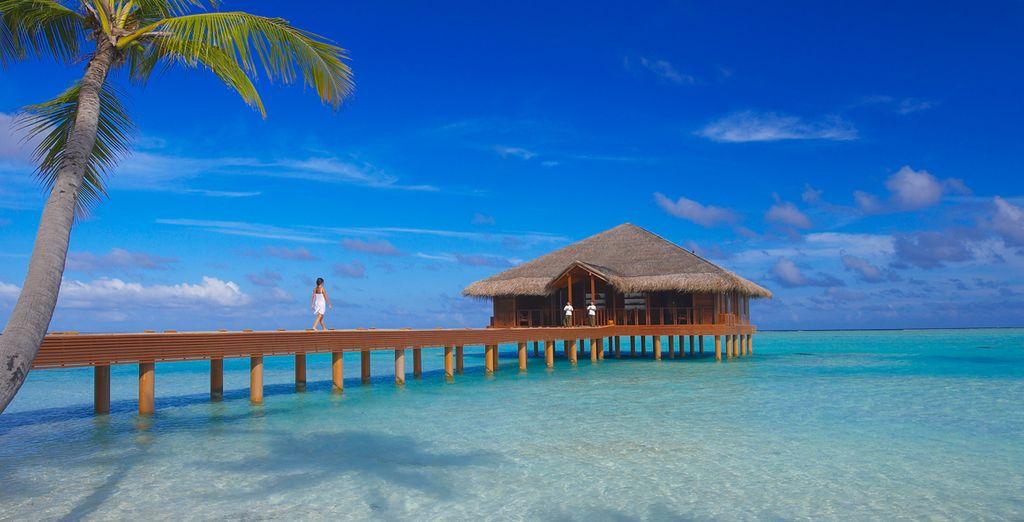 La Medhufushi SPA offre massaggi e trattamenti