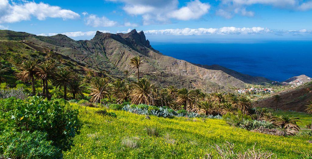 Splendida isola da un'incredibile varietà di paesaggi