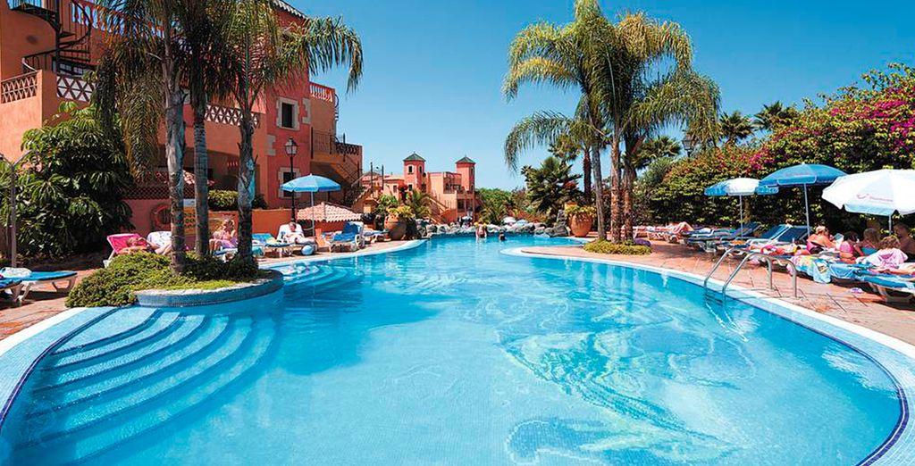 Rilassatevi sotto il sole caldo delle Canarie