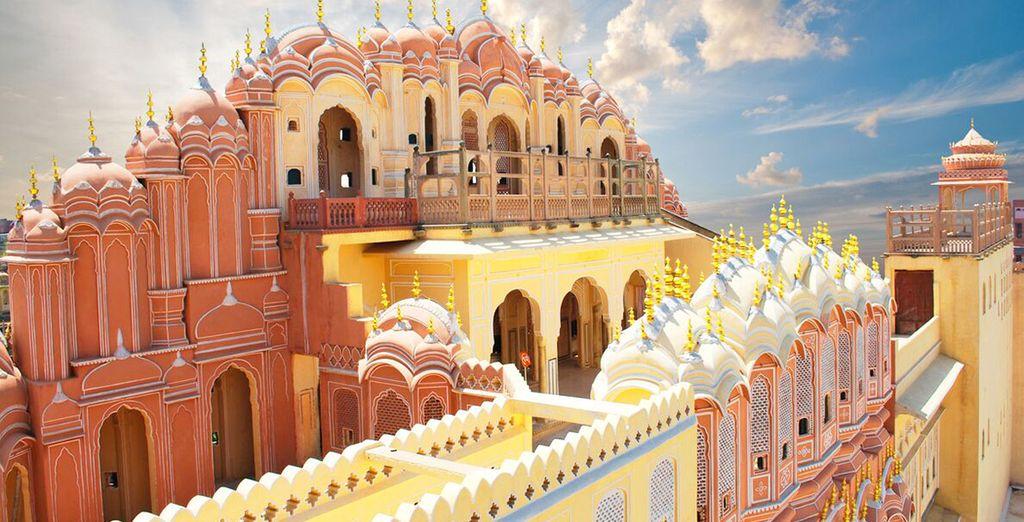 Potrete visitare Jaipur