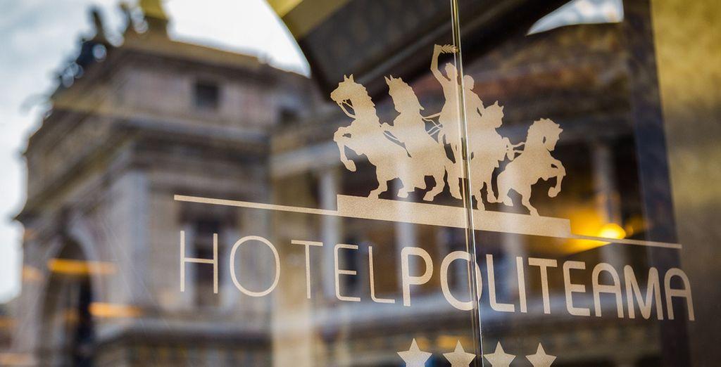 all'Hotel Politeama