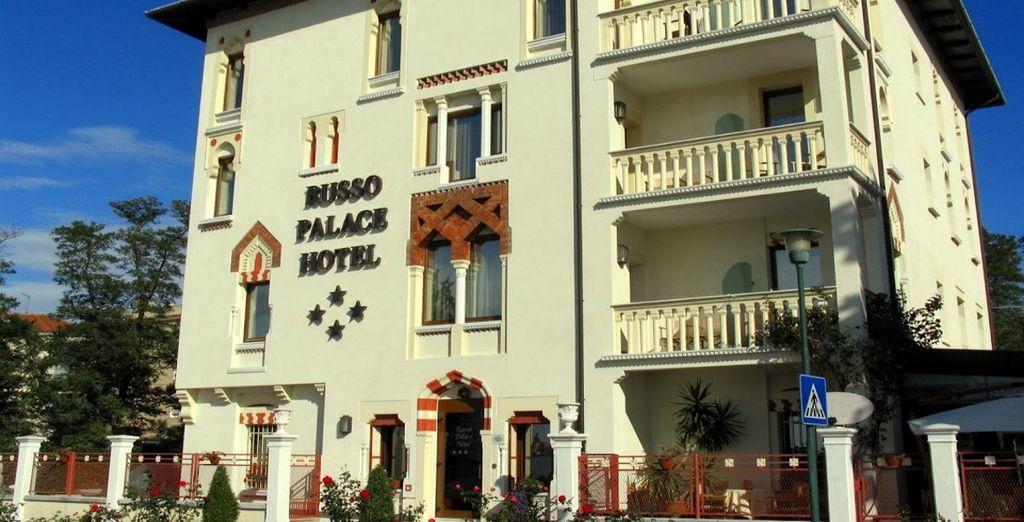 Il Russo Palace Hotel 4* è pronto ad accogliervi