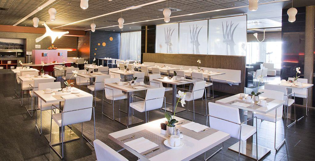Gusterete deliziosi piatti locali presso il ristorante dell'hotel