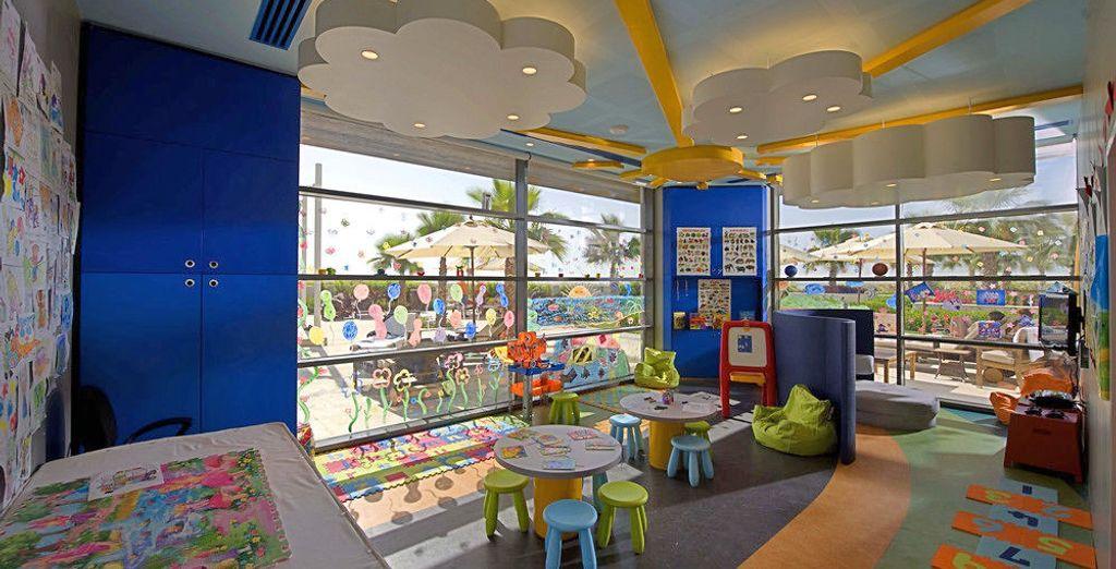 Per i bambini è presente un miniclub dove giocare e divertirsi