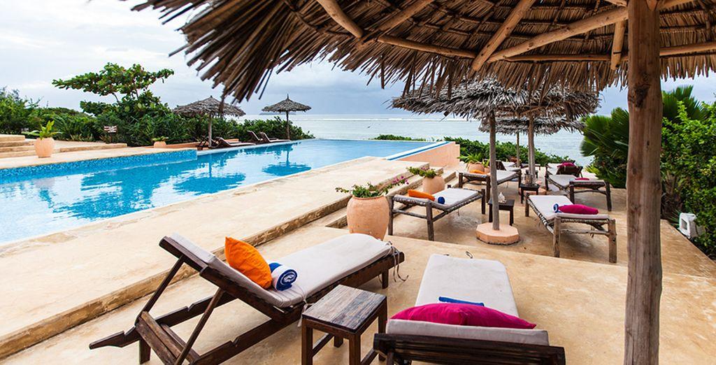 In questo paradiso sul mare potrete rilassarvi completamente