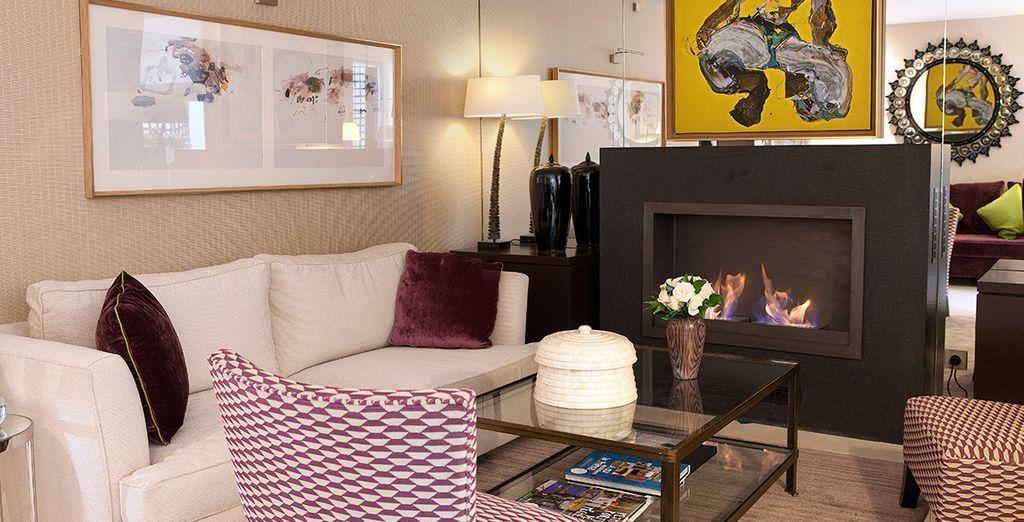 Un hotel arredato in stile contemporaneo che vi farà sentire come a casa