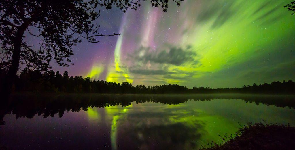 La bellissima Aurora Boreale vi lascerà senza fiato