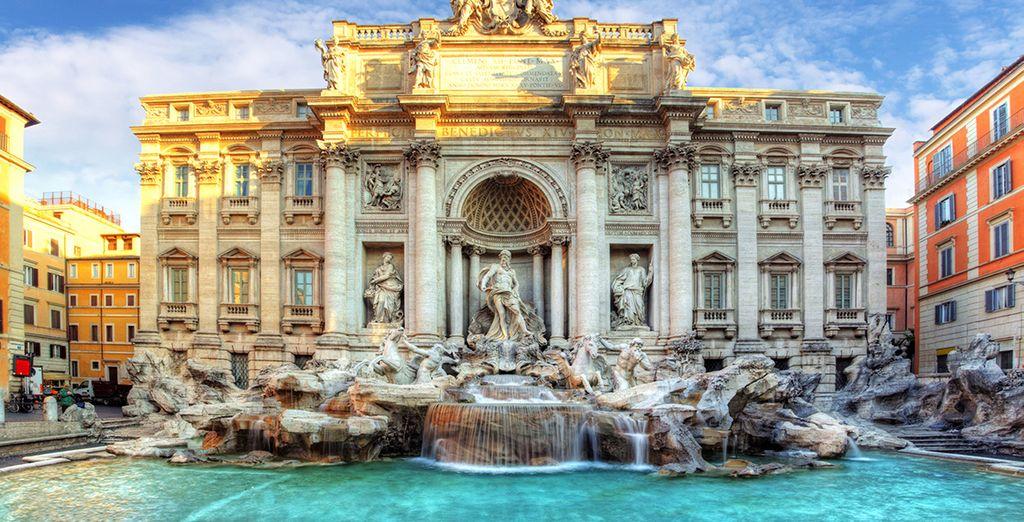 Roma : Fontane de Trevi
