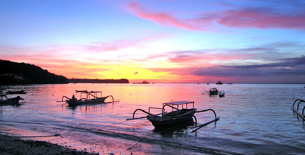 Partite per la splendida Bali