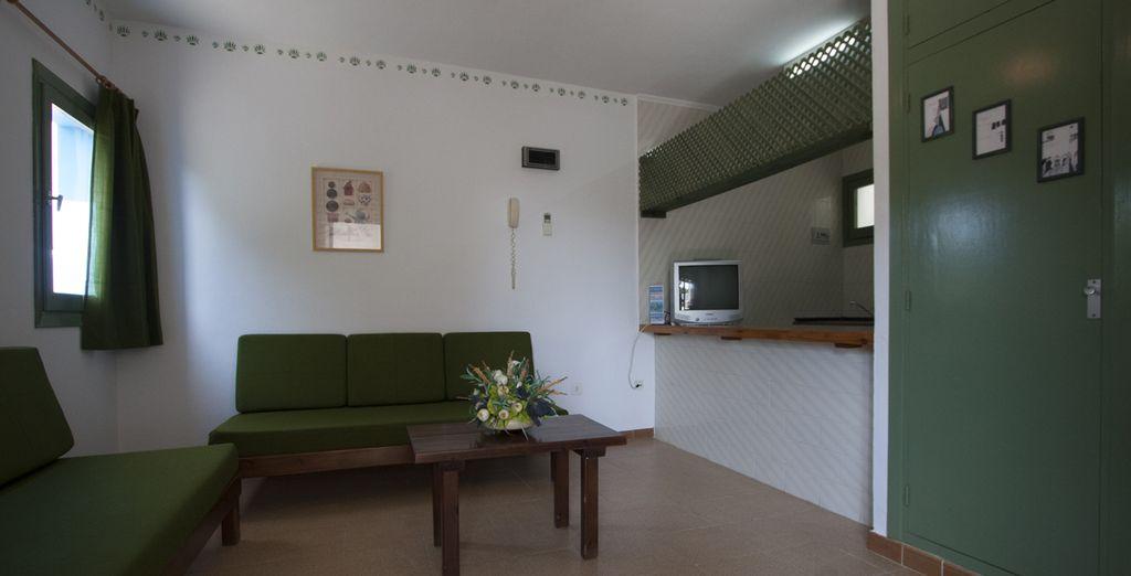 Un complesso che ospita accoglienti appartamenti