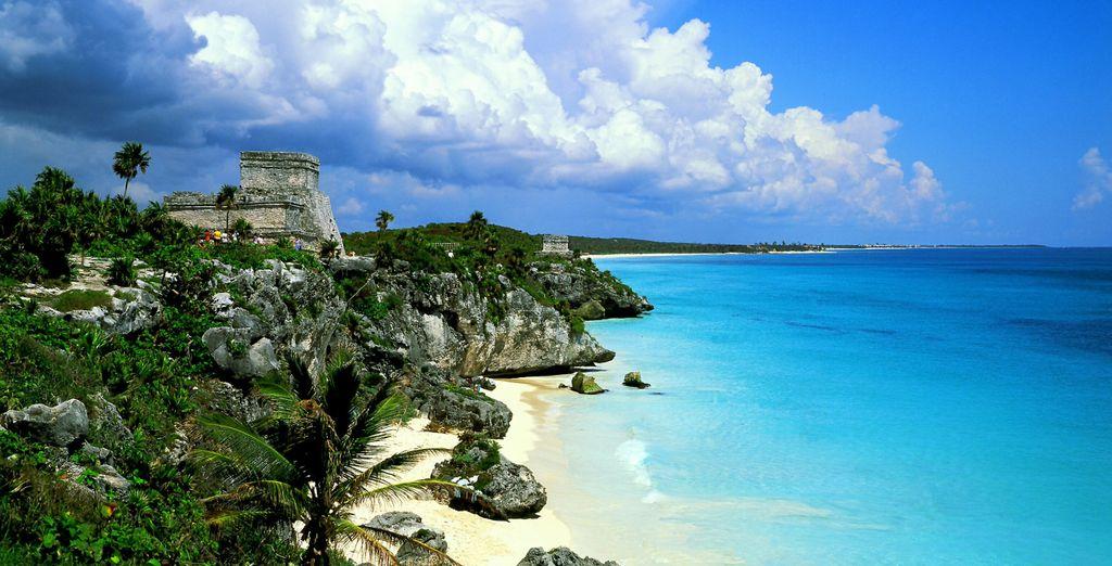 Scoprite una delle spiagge più belle al mondo, quella di Tulum