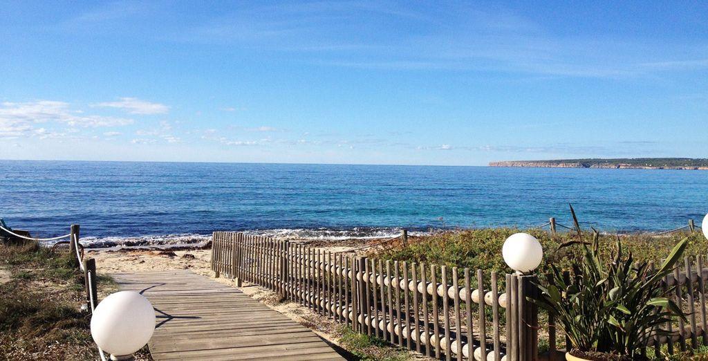 a pochi passi dalla spiaggia
