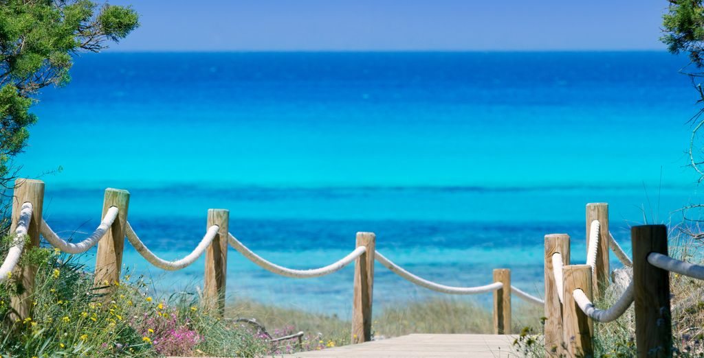 Partite per la splendida Formentera
