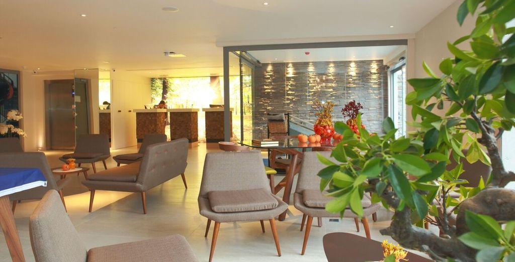 questo moderno hotel pronto ad aprirvi le sue porte