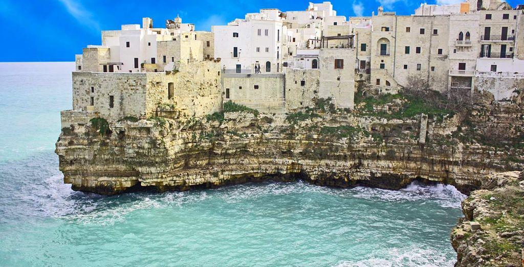 Visitate Polignano a mare e lasciatevi incantare dallo splendido territorio pugliese