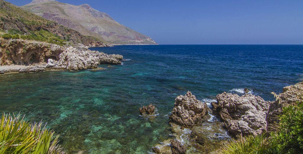 o lo splendido mare della Riserva dello Zingaro