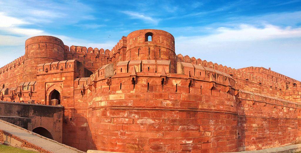 Come l'antico Forte Rosso di Agra