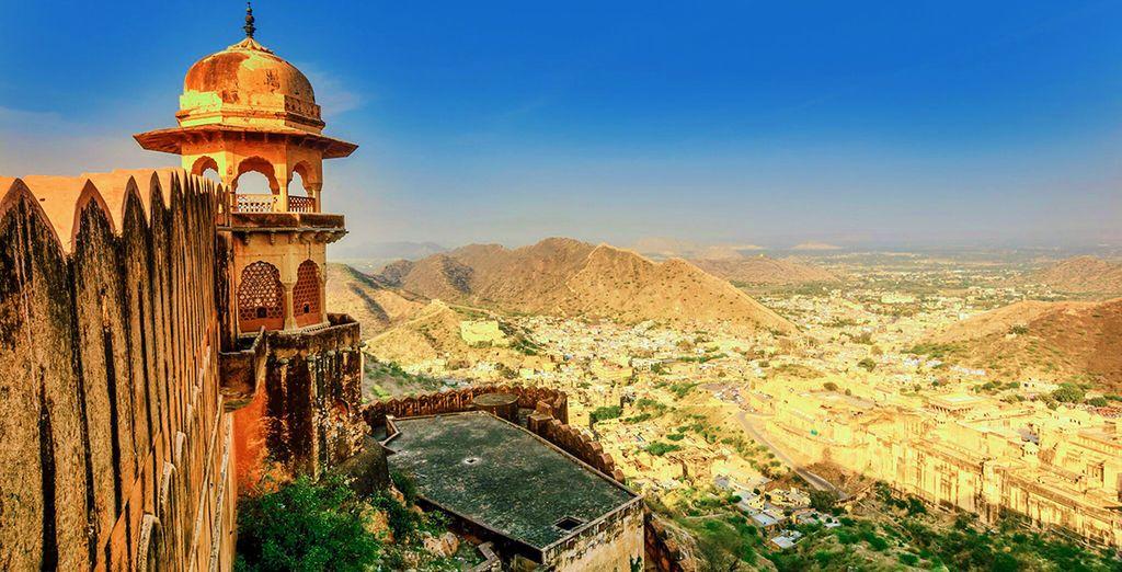L'antica capitale del Rajasthan