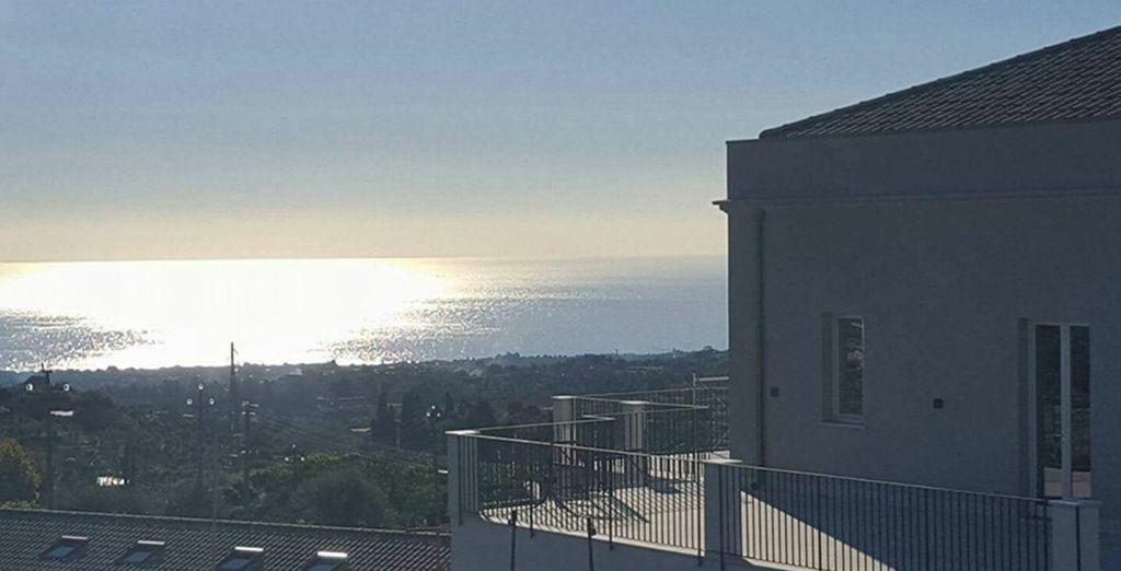 e l'incantevole Mar Ionio