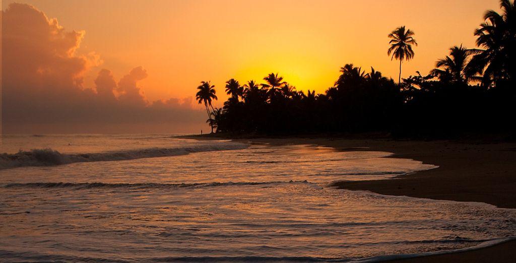 Concludete la serata mano nella mano lungo i 300 metri di spiaggia privata