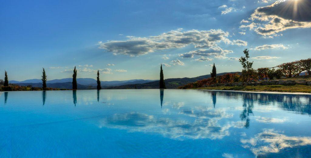 Silenzio e pace in una cornice d'eccezione con centro benessere e piscine riscaldate