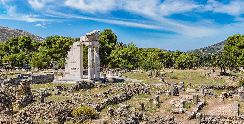 ed infine ammirerete le bellezze di Epidauro
