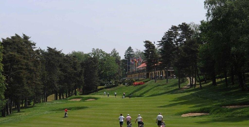 I numerosi campi da golf sono molto apprezzati dagli appassionati