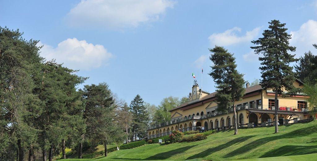 Il The Lodge Villa d'Este Golf Hotel vi attende