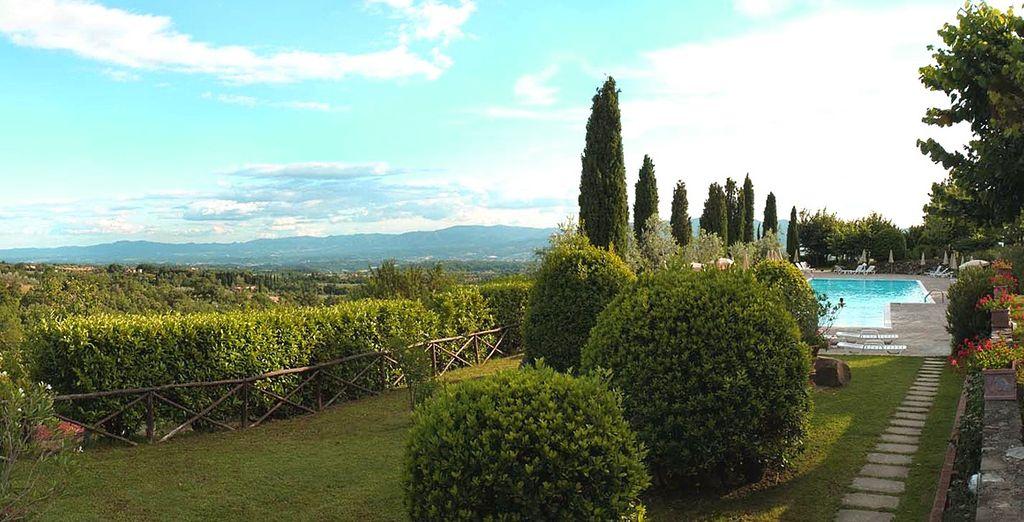 un soggiorno a 4* nel cuore della Toscana