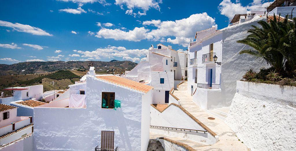 lo splendido borgo bianco di Frigiliana