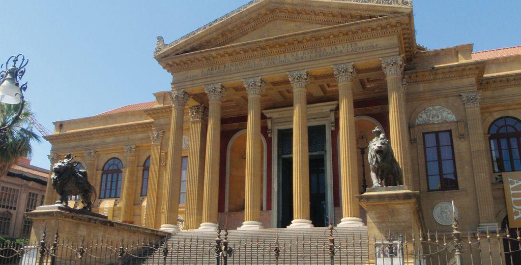 Scoprite una città ricca di fascino, partite per Palermo
