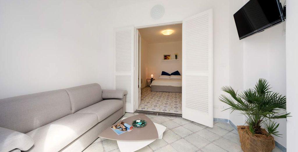 o con upgrade gratuito in camere Deluxe per soggiorni di almeno 7 notti