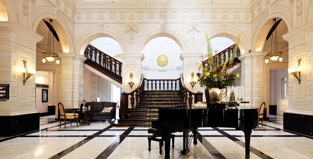 L'Hotel Intercontinental Amstel Amsterdam 5*S vi accoglie in tutta la sua eleganza