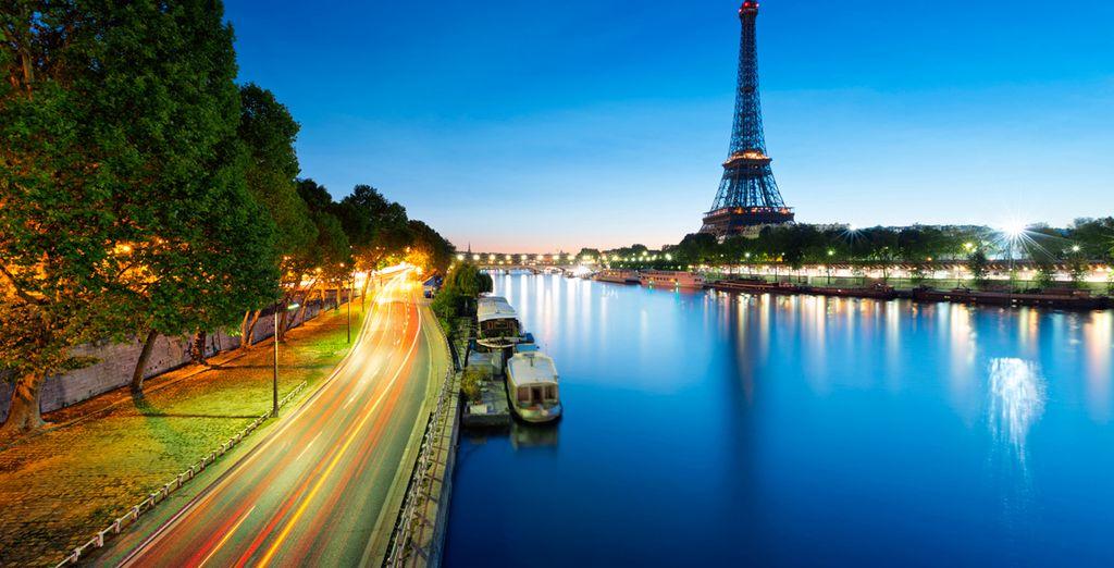 all'icona della città, la Tour Eiffel
