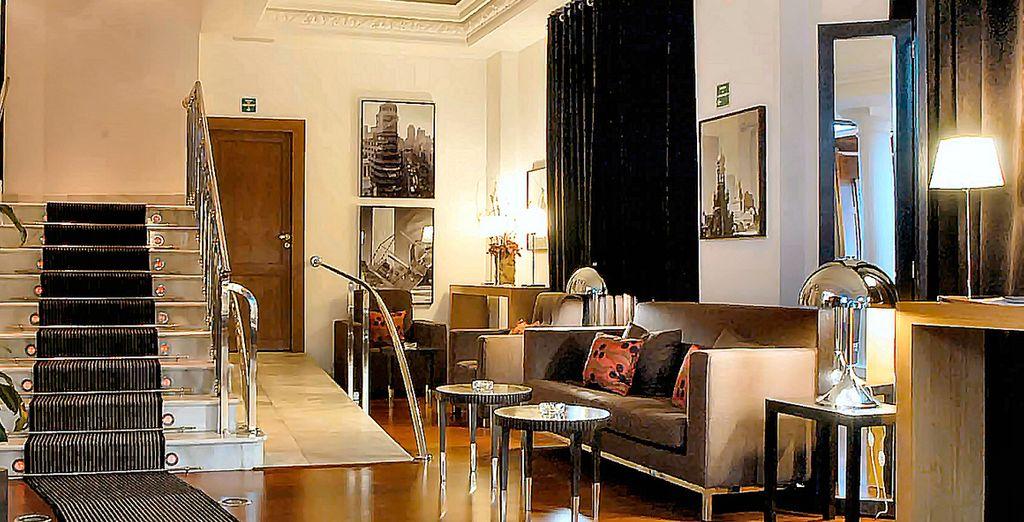 L'hotel Quatro Puerta del Sol è un hotel di design in una posizione unica