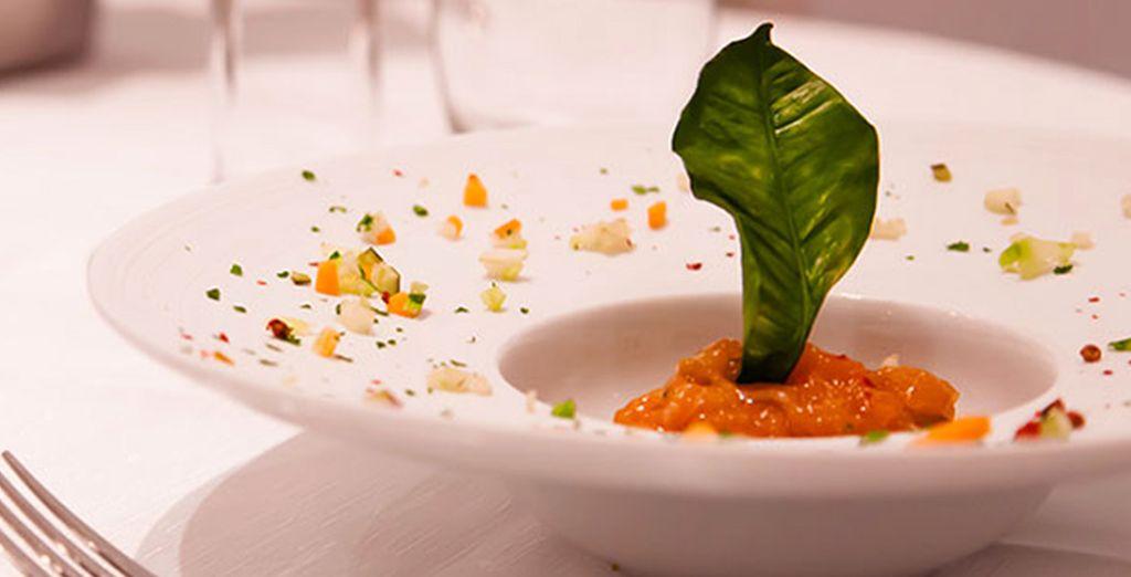 per deliziarvi con piatti della cucina mediterranea rivisitata dallo Chef