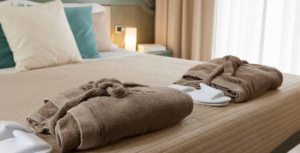 dotate di tutti i comfort atti a rendere il vostro soggiorno piacevole