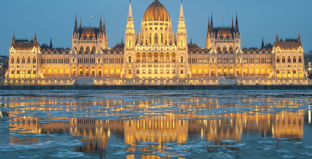 Budapest, città elegante e incantevole, vi affascinerà.