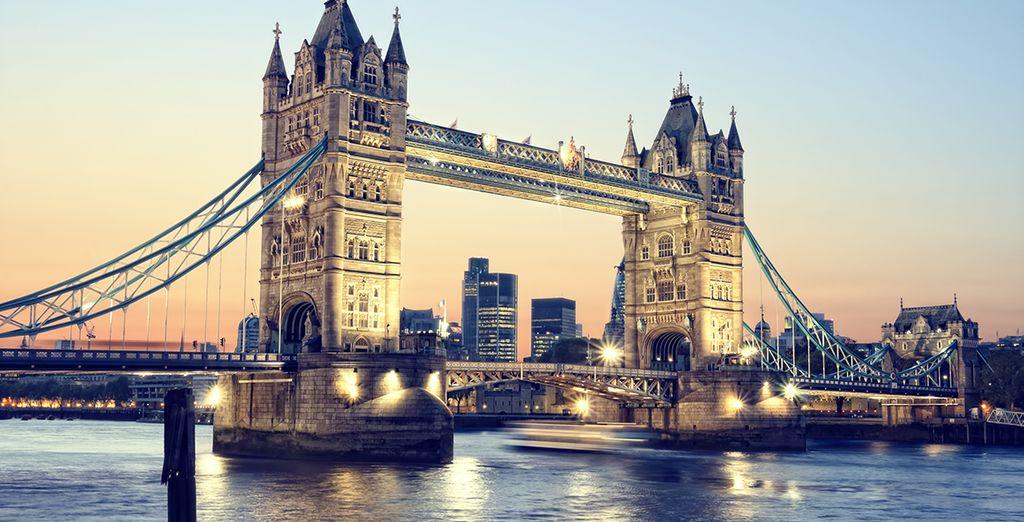nella splendida Londra