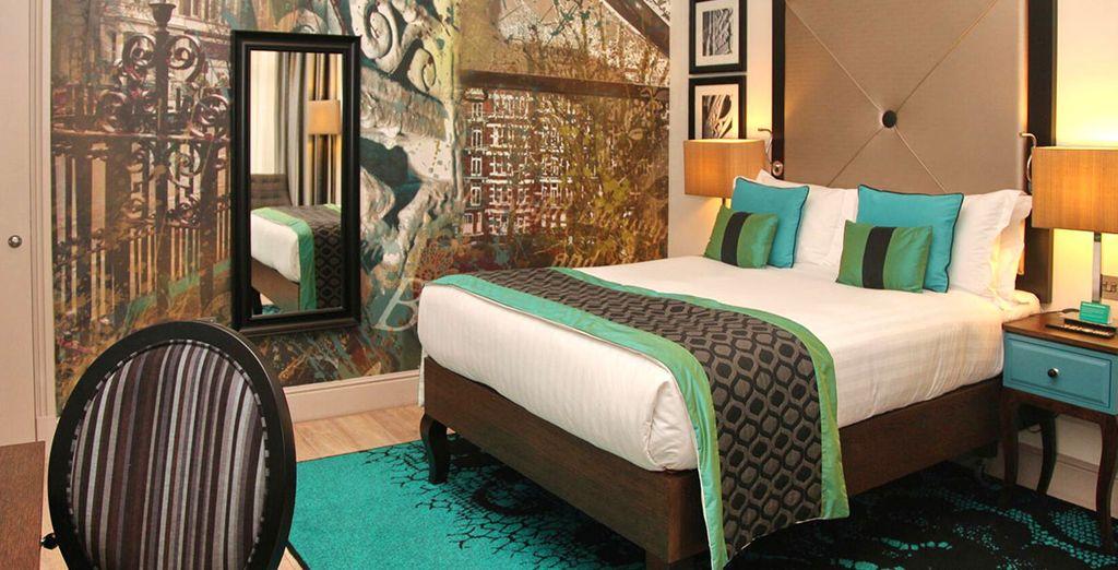 Il vostro lussuoso hotel vi attende