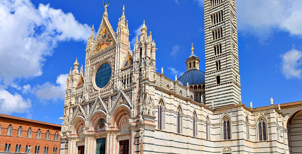 Rilassatevi prima di visitare la vicina Siena