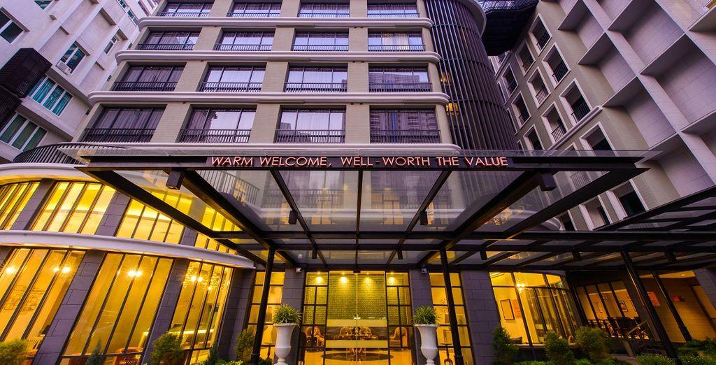 Dove soggiornerete al Well Hotel Bangkok Sukhumvit 20 5*