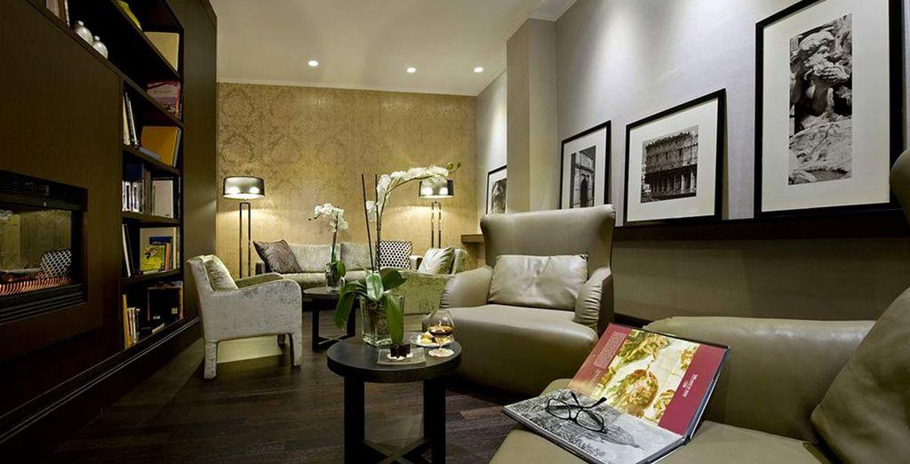Il vostro Mystery Hotel vi aspetta caratterizzato da ambienti raffinati e moderni