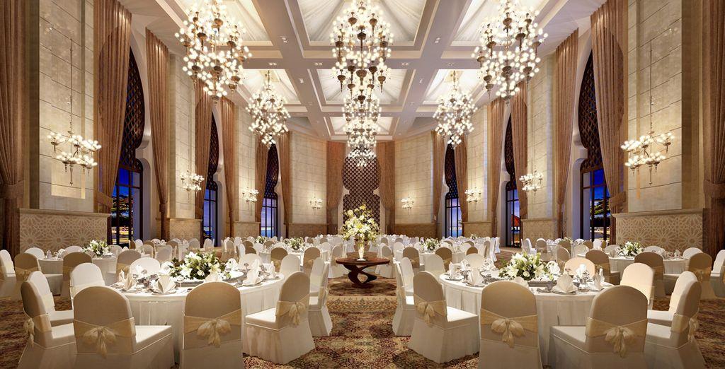Il ristorante Moriana vi invita in un ambiente sofisticato e di tendenza