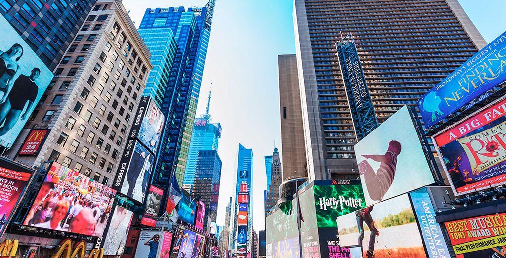 Grazie alla posizione privilegiata dell'hotel a pochi passi da Times Square